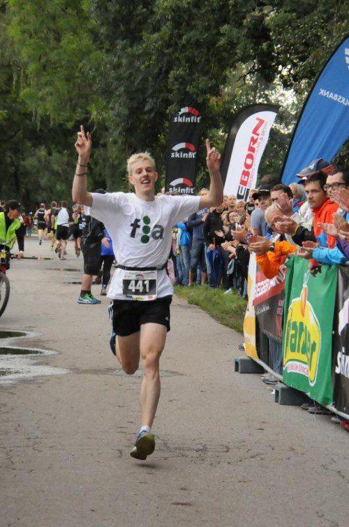 Der Dornbirner Jakob Mayer lief einen neuen Streckenrekord. akp