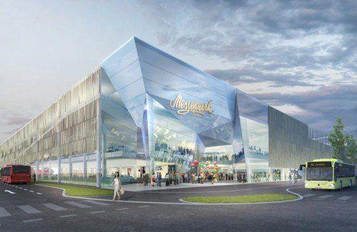 So würde der Messepark aussehen, wenn das Projekt genehmigt werden sollte. ATP