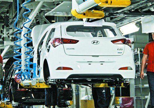 Der neue Hyundai i20 wird in der Türkei produziert. Foto: werk