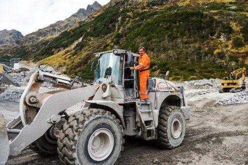 90 Mill. Euro werden in die Errichtung des Obervermuntwerks II investiert.
