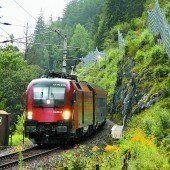 Planmäßiger Bahnverkehr über den Arlberg