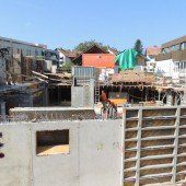 Wohnanlage in Bregenz macht Fortschritte