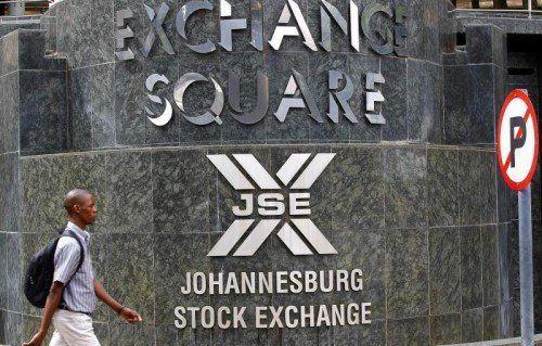 Die Börse von Johannesburg ist die größte des schwarzen Kontinents, Südafrika besonders im Finanzsektor sehr stark.  Foto: Reuters