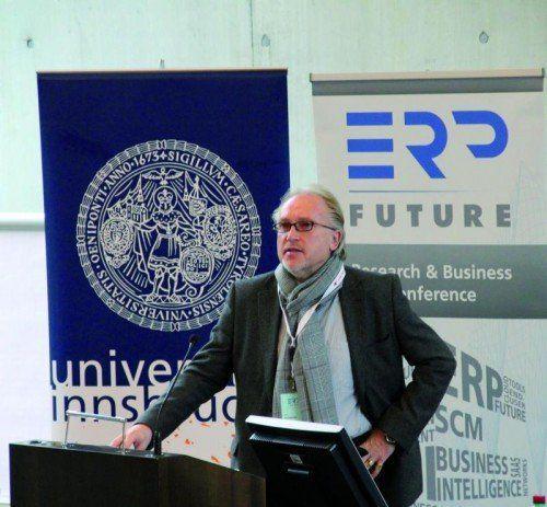Die ERP Future wird von der Uni Innsbruck veranstaltet.