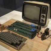 Über 700.000 Euro für alten Apple-Computer