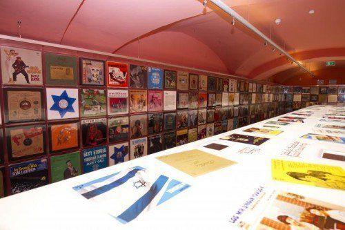 Die Geschichte der Schallplatte ist auch eine Geschichte jüdischer Erfinder, Musiker, Komponisten, Musikproduzenten und Songwriter. Foto: VN/Paulitsch