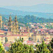 Das Ende des Weges in Santiago de Compostela
