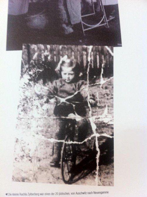 Die kleine Ruchla Zylberberg wurde durch Erhängen ermordet.