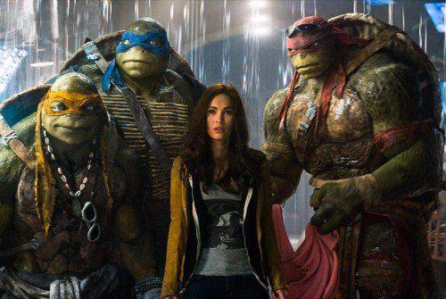 Die Kult-Schildkröten Donatello, Leonardo, Raphael und Michelangelo nehmen den Kampf gegen ihren ultimativen Endgegner auf.