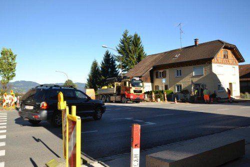 Die lang ersehnte Ampelanlage wird nun gebaut. Foto: ver