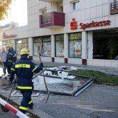 Unbekannte sprengten Bankfiliale in Berlin