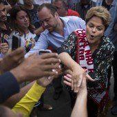Dilma Rousseff auf Stimmenfang