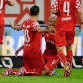 Michael Liendl schoss Fortuna Düsseldorf auf Rang zwei