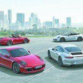 911 mit neuem Spitzenmodell GTS