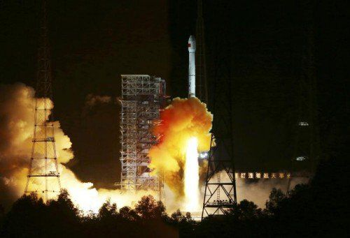 Eine Rückkehrkapsel soll künftig eine Sonde zum Mond und wieder zurück bringen. Foto: Reuters