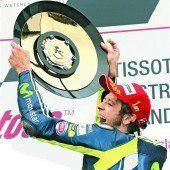 Rossi siegte beim Jubiläum