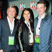 Emilio Bietti (l.), Nicole Schedler und Alexander Frischmann.