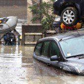 Drei Tote bei Unwettern in Italien