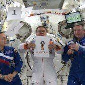 Präsentation in der Raumstation