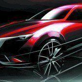 Mazda zeigt den neuen CX-3