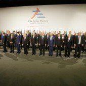 50 Staats- und Regierungschefs aus Asien und Europa treffen sich beim ASEM-Gipfel in Mailand
