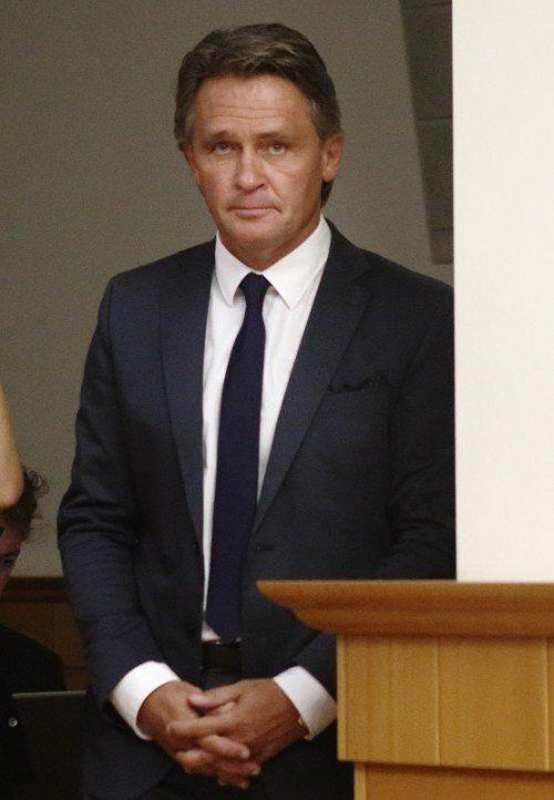 Ex-BZÖ-Chef Westenthaler im Wiener Landesgericht.  FOTO: RTS