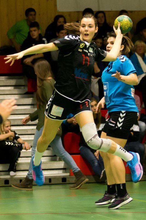 Goalgetterin Fabienne Tomasini ist erstmals wieder dabei. Foto: steurer