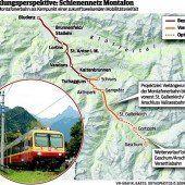 Die Montafonerbahn soll noch viel weiter ins Tal hineinfahren