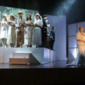 Das Musiktheater präsentiert Evita