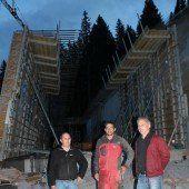 Skitunnel in Damüls für mehr Sicherheit