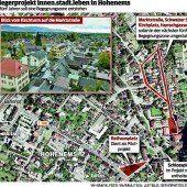 Hohenemser Innenstadt wird zur Begegnungszone