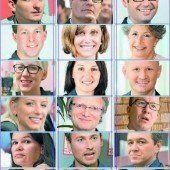 21 neue Gesichter im Vorarlberger Landtag