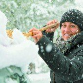 Der Winter gibt nur ein kurzes Gastspiel
