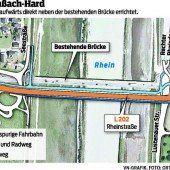Leitungen müssen unter den Rhein
