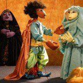 Orientalische Marionetten