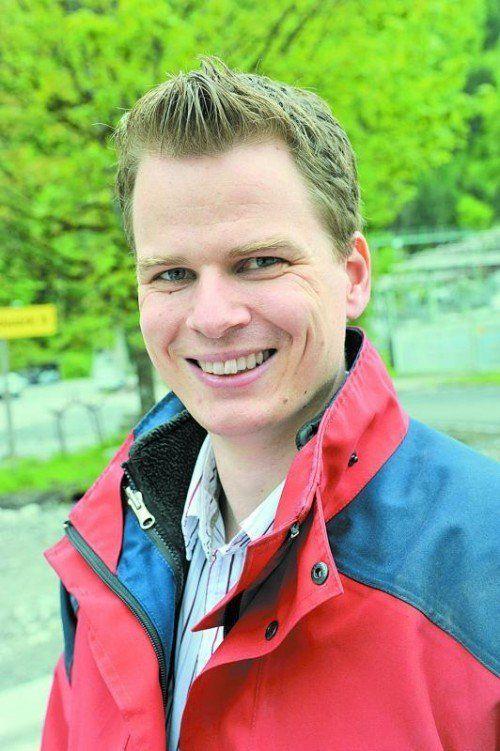 Florian Soller ist bei den illwerke vkw im Bereich Engineering tätig und Projektleiter beim Bau des Kraftwerks Rellswerk.