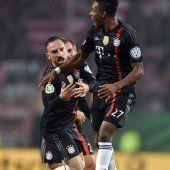 Bayern mit lockerem 3:1-Sieg