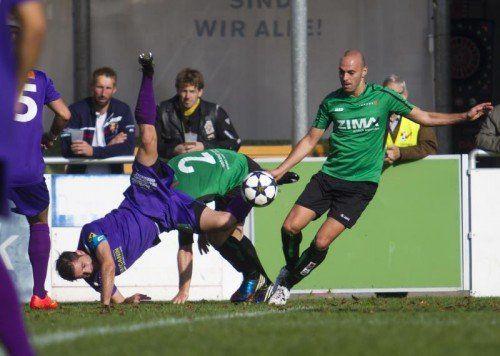 Fußball, Landesliga Landesliga SK Viktoria - Langenegg