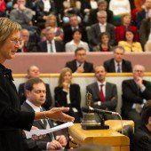 Landtagspräsidentin auf dritte Position