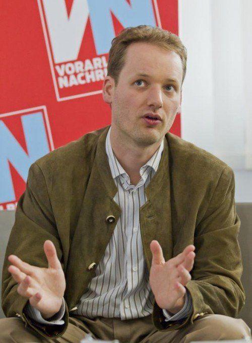 Gastreferent Prof. Dr. David Stadelmann.  Foto: VN/Steurer.