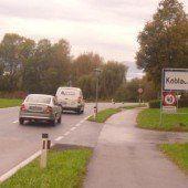 Neugestaltung der Koblacher Ortseinfahrten