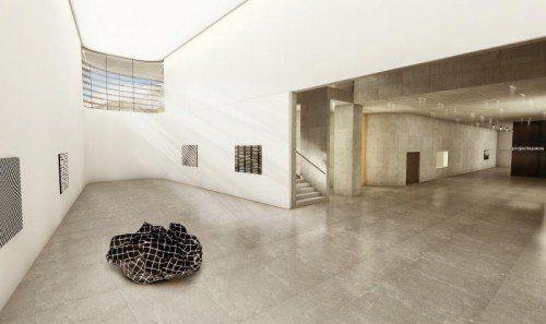 Geplant wurde die Kunsthalle am Arlberg vom Architekturbüro Kitzmüller, die Kosten belaufen sich auf 26 Millionen Euro. Rendering: Kitzmüller
