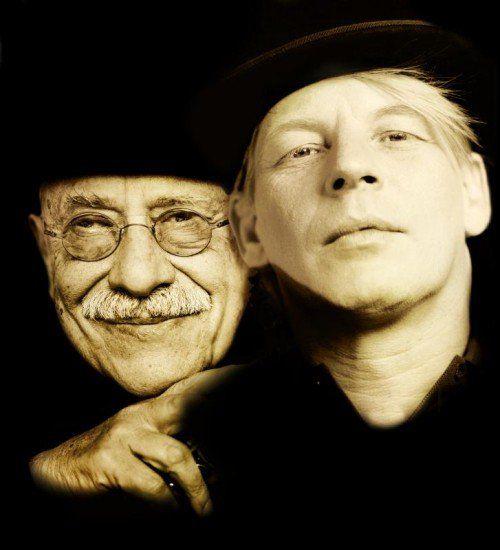 Giora Feidman und Ben Becker gestalten den heutigen Abend in Erinnerung an den rumänischer Dichter Paul Celan. foto: caravan