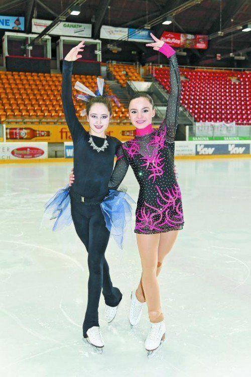 Gut in Form: Joelle Nasheim und Amina Gohm. Foto: privat