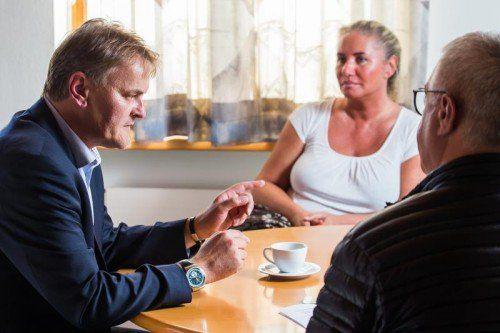 """""""Ich bin nicht zur SP gegangen, weil es Faymann gibt. Und ich trete auch nicht aus, weil es Ritsch gibt"""": SP-Bürgermeister Bucher im VN-Gespräch."""