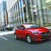 Der Mazda2 ist gewachsen