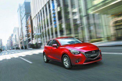 Im Februar kommt der neue Mazda2 auf den Markt. Foto: werk