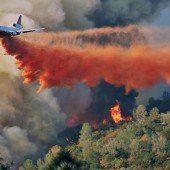Wieder Feuer im Yosemite-Park