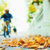 Sicheres Radfahren auch im Herbst