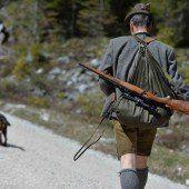 Schießwütige Jäger